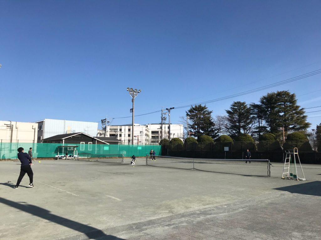 桜ヶ丘公園テニスコート・グラウンド